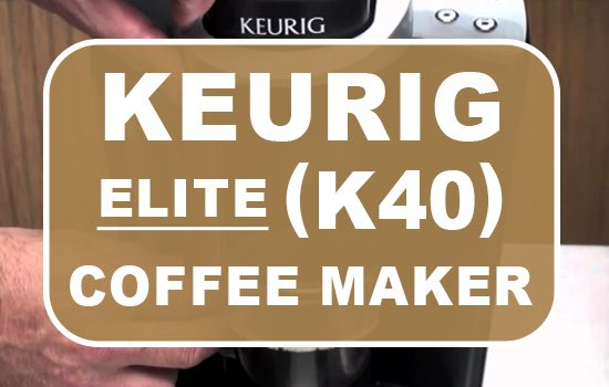 Elite K40 Coffee Maker