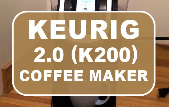 Keurig K200 Coffee Maker Brewing System