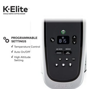 keurig k-elite single serve