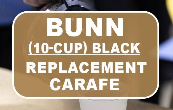 BUNN 10 Cup Replacement Carafe Black