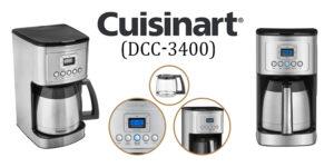 Cuisinart DCC-3400 coffee maker
