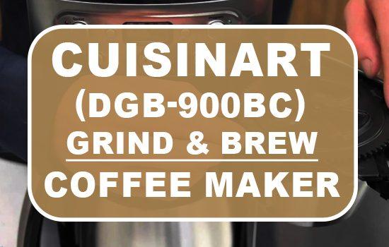 Cuisinart DGB-900BC Grind & Brew Coffee Maker