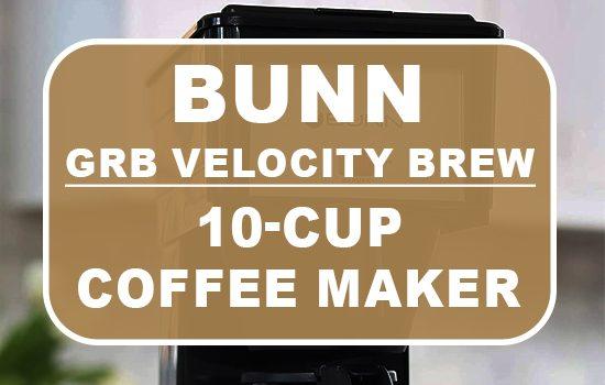 bunn GRB 10 cup coffee maker