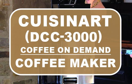cuisinart coffee on demand dcc-3000