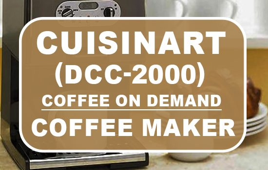 cuisinart dcc-2000