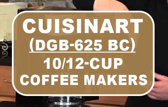 cuisinart dgb 625bc