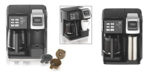 hamilton beach double coffee maker