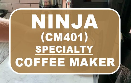 ninja cm401 specialty coffee maker