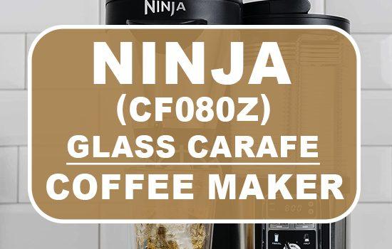 ninja coffee bar brewer with glass carafe