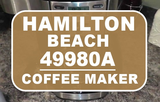 hamilton beach 49980a single serve coffee brewer and full pot coffee maker