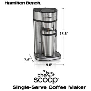 hamilton beach scoop coffee maker