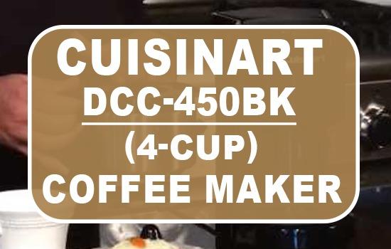Cuisinart DCC-450BK 4-Cup Coffee Maker