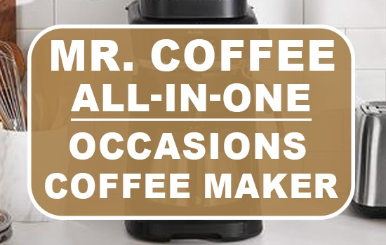 Mr Coffee All-in-One Occasions Specialty Pods Coffee Maker