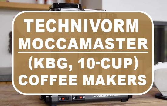 Technivorm Moccamaster Coffee Makers