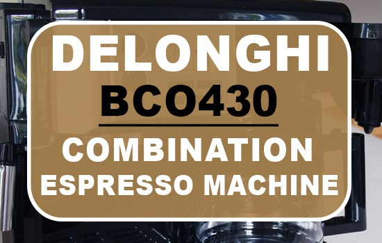 DeLonghi BCO430 Combination Espresso Machine